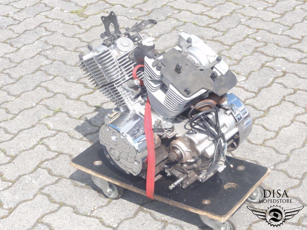 Yamaha dragstar 125 typ veo1 motor motorblock ebay for Ebay motors warehouse in billings montana